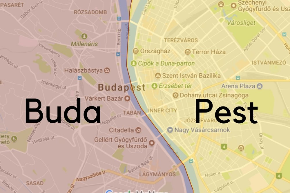 Buda vs Pest in choosing best district to stay in Budapest
