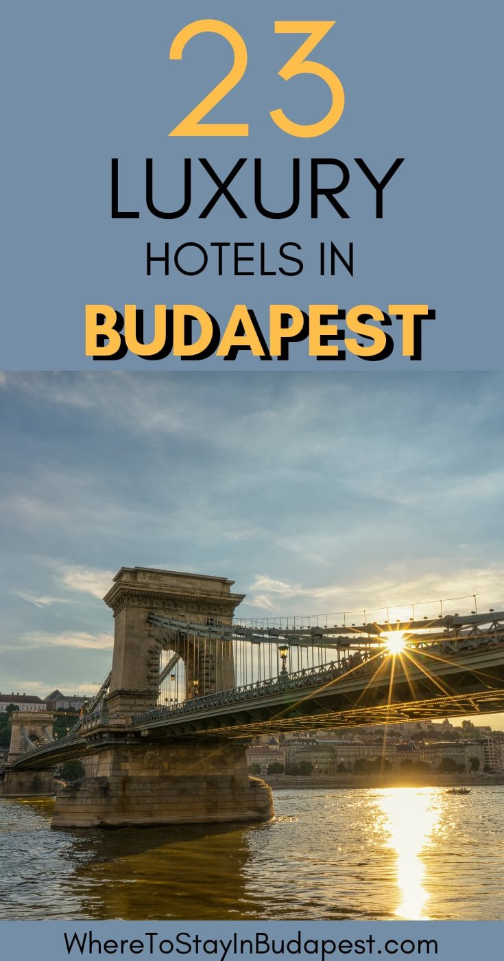 Where to Stay in Budapest - Luxury Hotels Budapest. If you're planning a luxury trip to Budapest, don't miss our (local's)guide to the best luxury hotels in Budapest! #Budapest #Hungary #Europe #CityBreak #Luxury #Travel