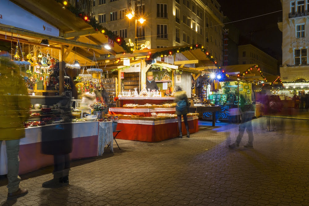 The Kempinski Budapest is located near Fashion Street and Vörösmarty tér, which hosts one of Budapest's most popular Christmas markets