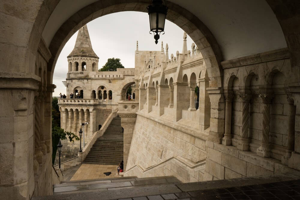 Fishermans Bastion near pest buda hotel