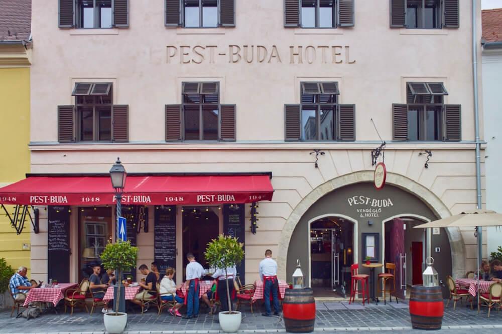 Pest Buda Hotel Exterior