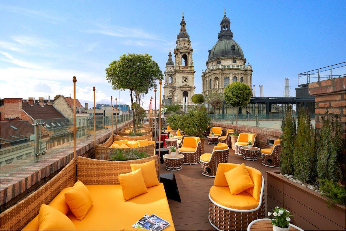HighNote Sky Bar Aria Hotel Budapest