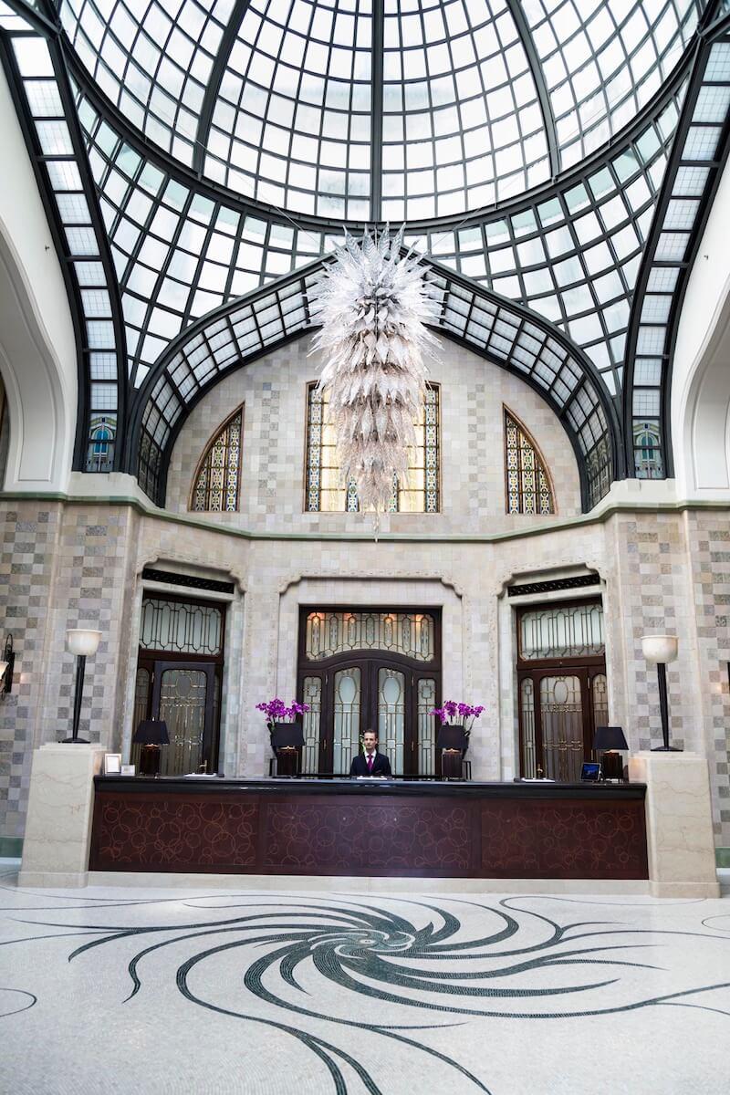 Lobby four seasons budapest