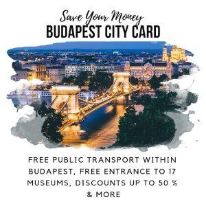 Budapest City Card Sidebar Image