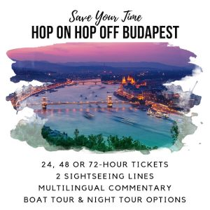 Budapest Hop on Hop Off Bus Sidebar Image