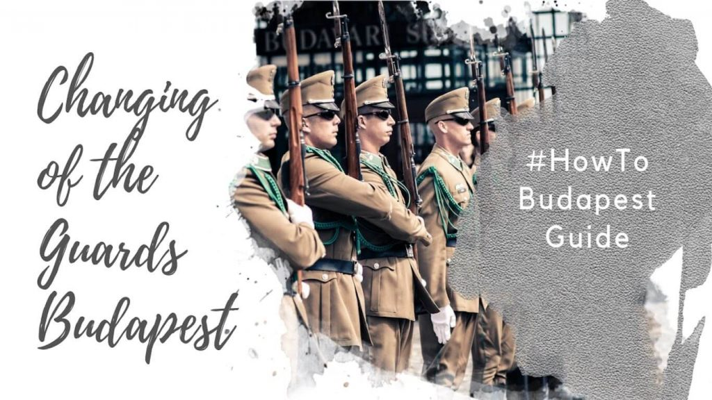 Feature image for an article about the changing of the guard ceremony at Sandor Palace in Budapest.