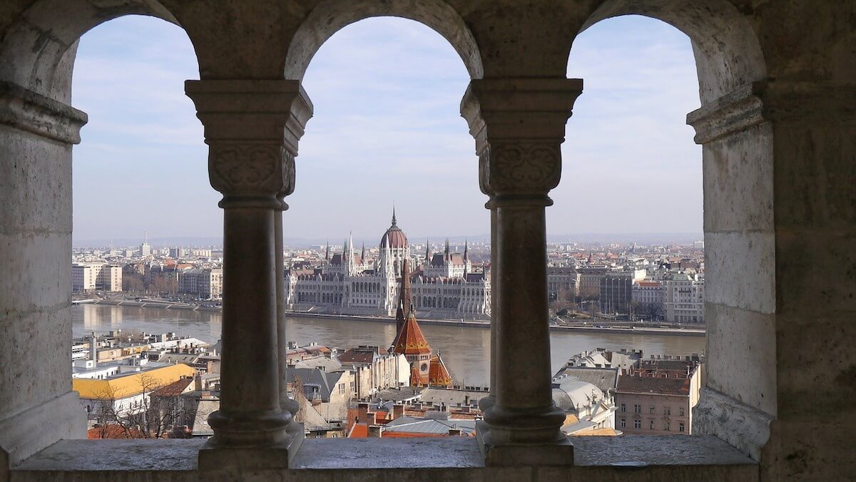 Fishermans Bastion View Budapest