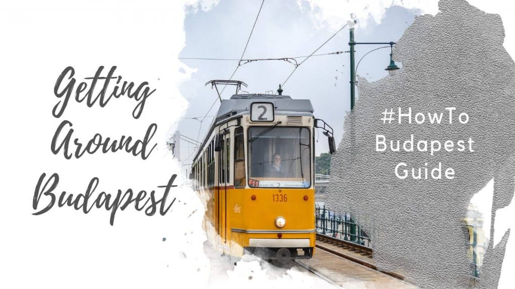 Feature image for an article about getting around Budapest.
