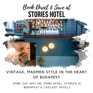 Stories Hotel Budapest Promotion